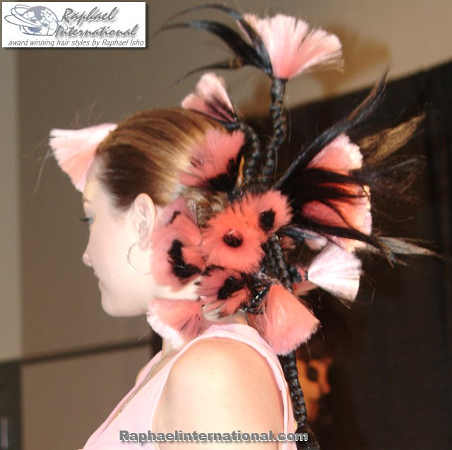 Fantasy and Runway hair styles for Modeling and fashion shows and