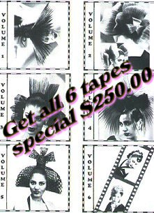 Hair training tapes -full series 250.00