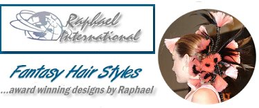 Fantasy and Runway hairstyles by Raaphael Isho master stylist